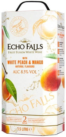 Echo Falls White Peach & Mango