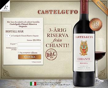 Castelgufo Chianti Riserva Organic