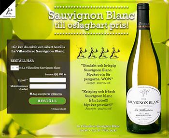 La Villaudiere Sauvignon Blanc