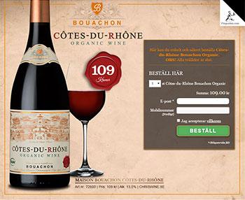 Côtes-du-Rhône Bouachon Organic
