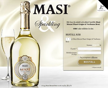 Masi Moxxé Pinot Grigio & Verduzzo Brut