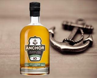 Whiskyn går i hamn