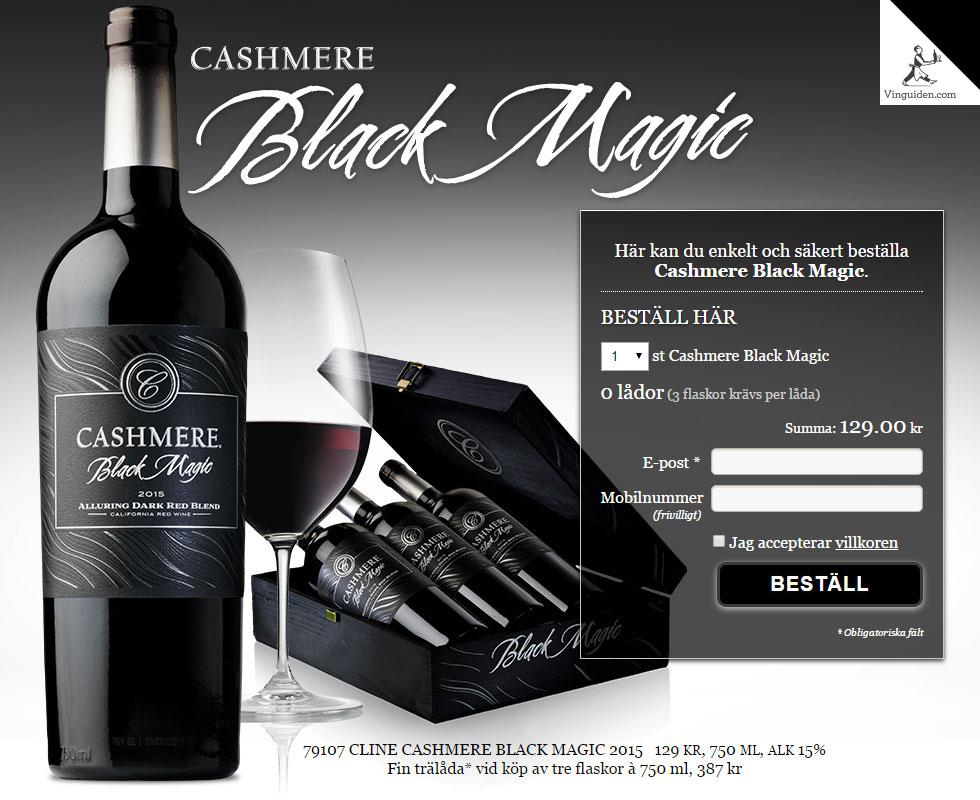 Cashmere Black Magic