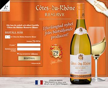 Côtes du Rhône Reserve Blanc