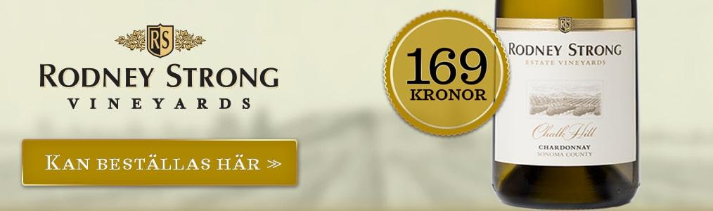 Beställ Rodney Strong Chardonnay här!