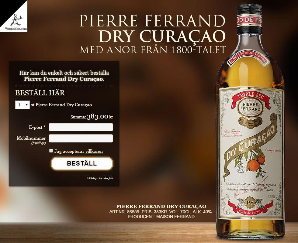 Pierre Ferrand Dry Curaçao