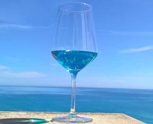 Blått vin
