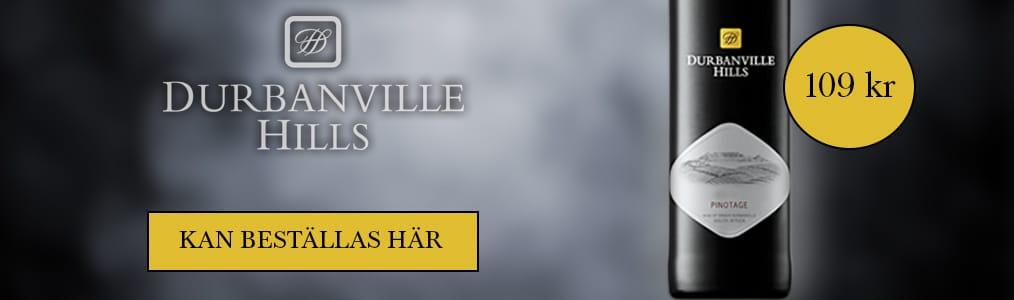 Beställ Durbanville Hills Pinotage här!