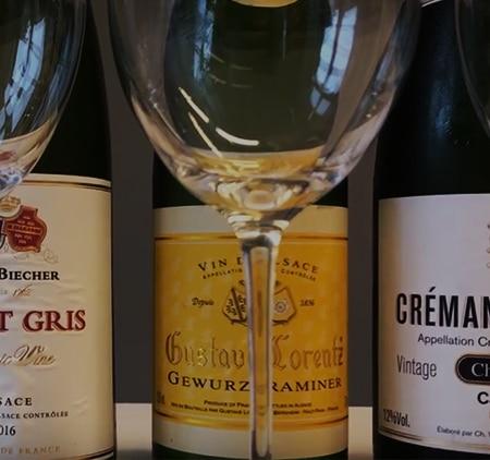 Fyra ädla druvor från Alsace