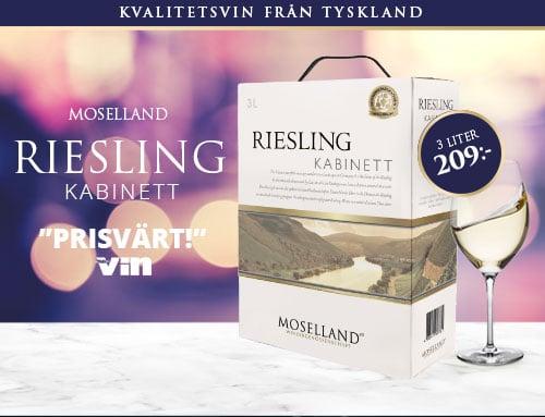 Moselland Riesling Kabinett