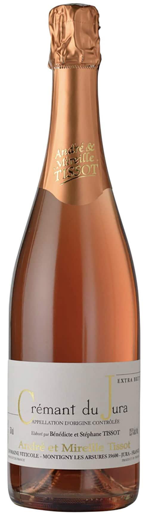 Crémant du Jura Rosé Extra Brut