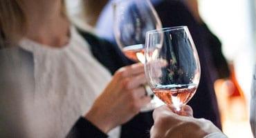 Lyckat rosémingel på The Winery Hotel