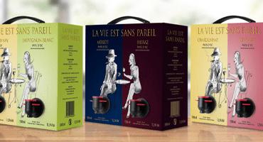 Vinboxen med dubbla  kranar – så funkar det