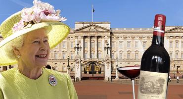 Drottningen snålar på allt – utom viner