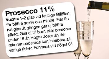 Forskare: 8 hälsofördelar  med Prosecco