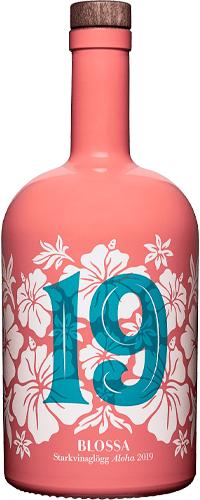 Blossa 19 Aloha, med smak av passionsfrukt, hibiskus, kokos och kaffe.