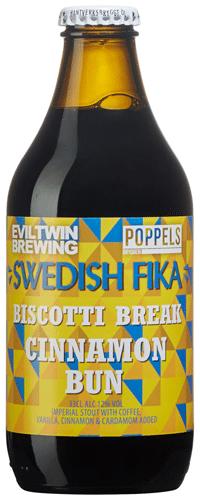 Swedish Fika Cinnamon Bun Evil Twin/Poppels