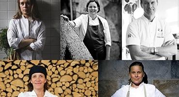 Kvinnliga kockar lagar hållbart