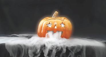 Effektfull is till halloweenfesten