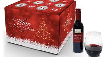Adventskalendern med rött vin som gör succé