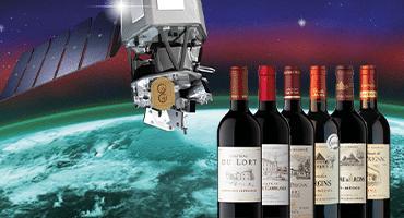 Vill sälja vin som lagrats i rymden