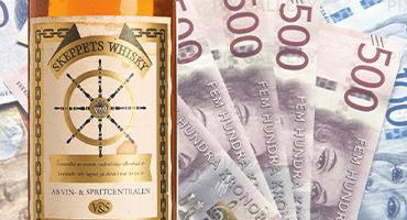 Rekordpris för svenska whiskyn