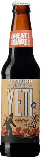Pumpkin Spice Yeti