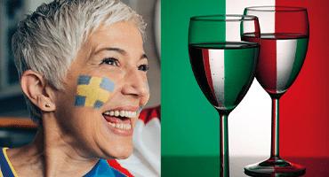 Vinländerna som ökar mest (men ingen hotar Italien)