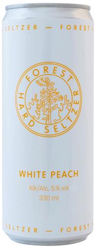 Forest Hard Seltzer White Peach