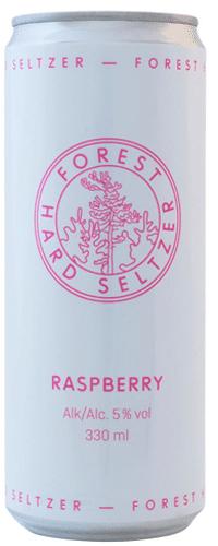 Forest Hard Seltzer Raspberry