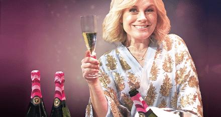 """Pernilla Wahlgrens bubbel: """"Inspirerat av mitt rosa hus"""""""