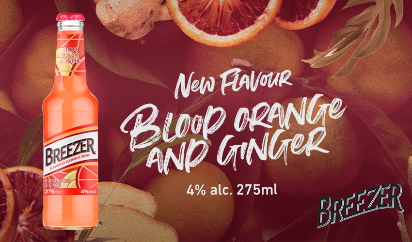 Breezer Blood Orange & Ginger