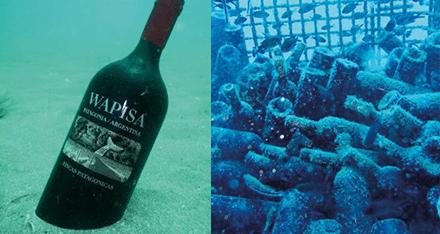 """Lagrar vin i havet – """"ska åldras snabbare och bättre"""""""
