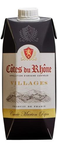 Côtes du Rhône Villages Cuvée Marion Papin