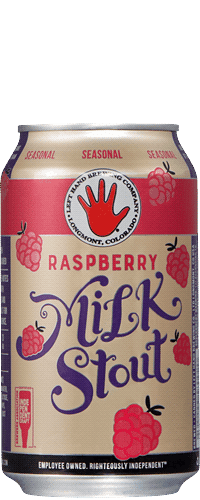 Raspberry Milk Stout Left Hand Brewing Company