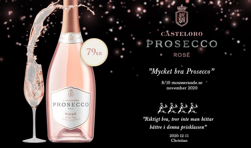 Casteloro Prosecco Rosé