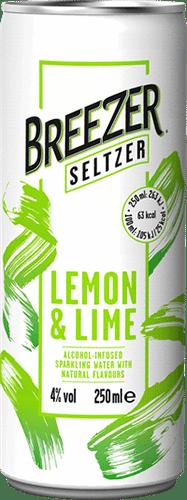 Breezer Seltzer Lemon & Lime