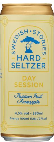 Uppsala Brygghus Swedish Stories Hard Seltzer Passion Fruit Pineapple