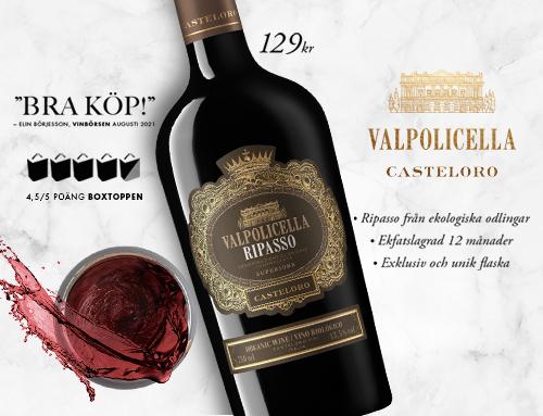 Casteloro Valpolicella Ripasso Organic