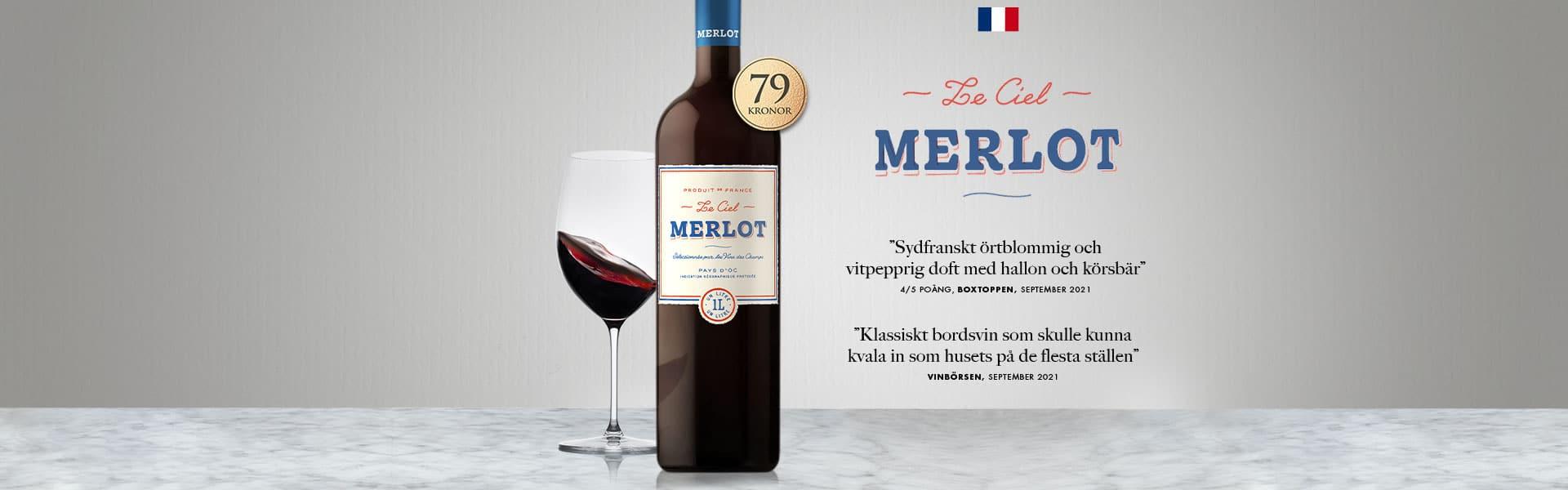 Le Ciel Merlot