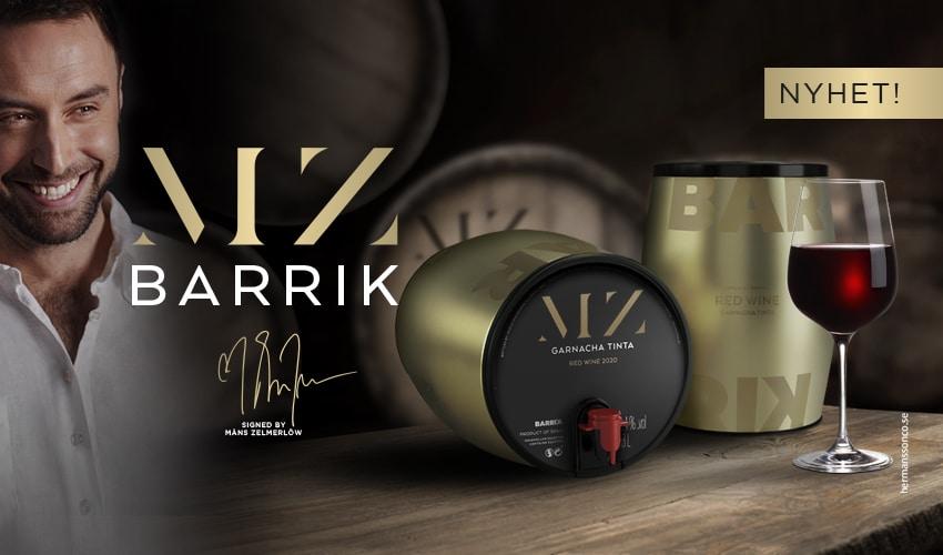 MZ Barrik by Måns Zelmerlöw